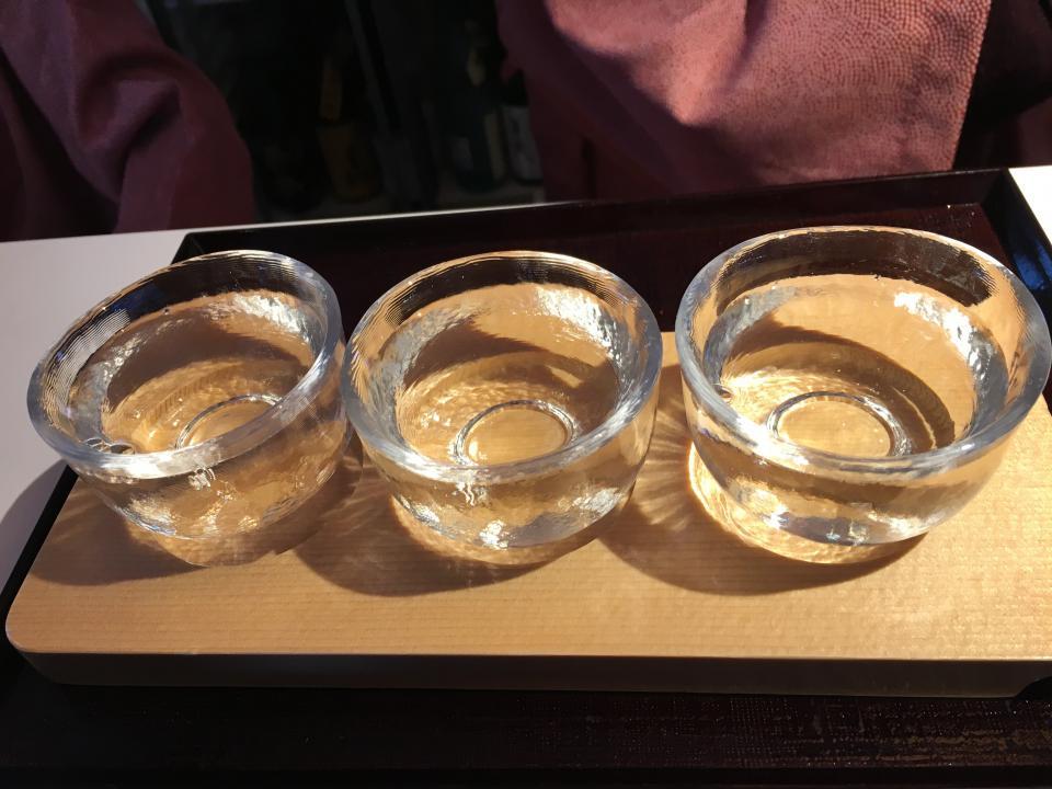 利き酒セット(三種類)