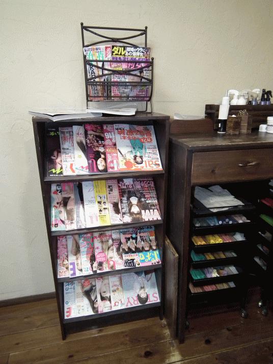 色々な年代層に合わせた豊富な雑誌
