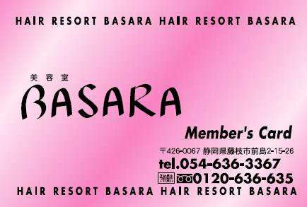 Member's Card (表)